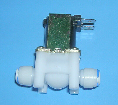 "1/4"" Electric Solenoid Valve Push-In Connectors 24VAC"