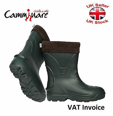 Camminare Thermal LIGHTWEIGHT EVA MATERIAL Wellies Wellingtons Boots-30C Voyager