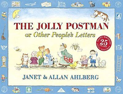 The Jolly Postman by Allan Ahlberg New Hardback Book