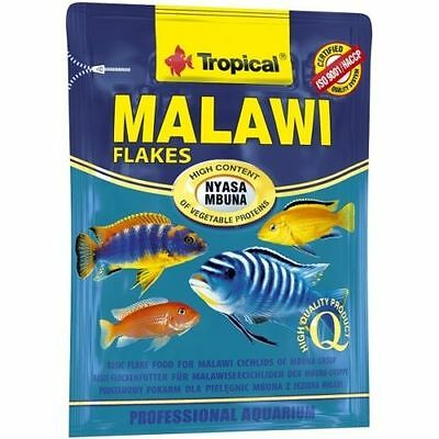 Tropical* MALAWI FLAKES MBUNA* CICHLID FISH FOOD 12g sachet