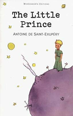 The Little Prince Wordsworth Chi by Antoine De Saint-Exupery New Paperback Book