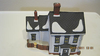 Dept 56 - New England Lot 8: Jannes Mullet Amish Farm House - Barn - Accessories