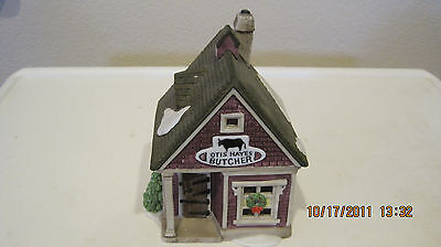 Dept 56 - New England Lot 4: Cherry Lane Shops + Town Tinker + Knife Grinder