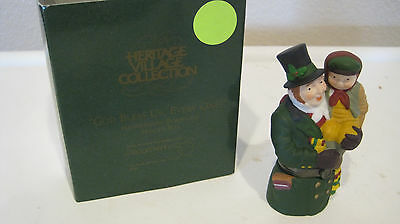 "Dept 56 - Dickens Lot 2: ""god Bless Us, Every One!"" + Carolers - Black Post"