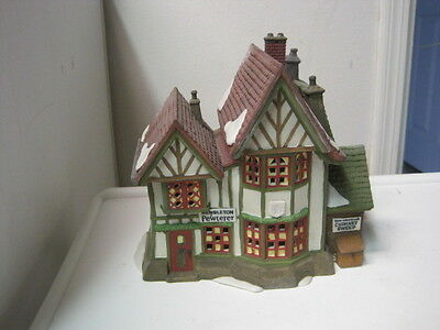 Dept 56 - Dickens Lot 4: Hembleton Pewterer - King's Road Po - Access