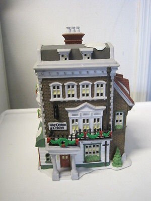 Dept 56 - Dickens Crown & Cricket Inn
