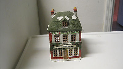 Dept 56 - Dickens Lot 5: Christmas Carol Cottages W/accessories