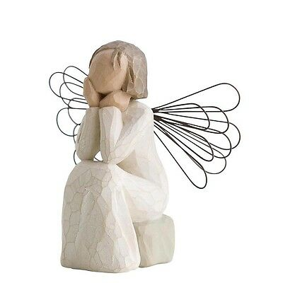 New & Boxed Willow Tree Figurine Angel of Caring #26079 Gift