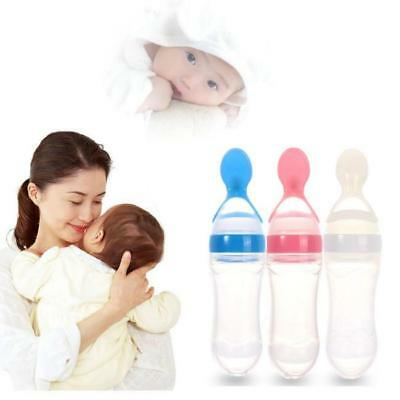 Practical Boon Squirt Silicone Baby Kids Infants Toddler Food Dispensing Spoon G