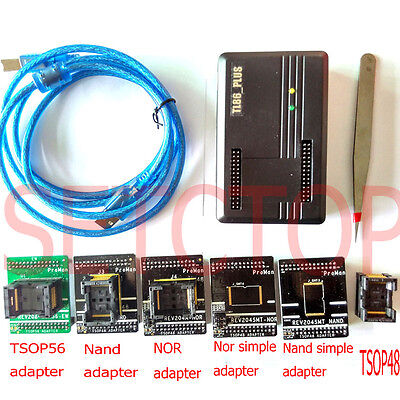 TL86-PLUS NAND TSOP48/56 FLASH Programmer chip Data Recovery copy repair tool