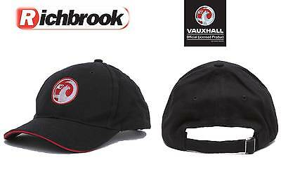 Richbrook Official Licensed Vauxhall Logo Baseball Cap/Hat Corsa Astra Adam
