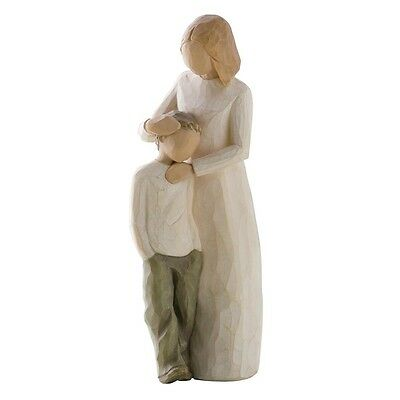 New & Boxed Willow Tree Figurine with Child.  Mother and Son #26102