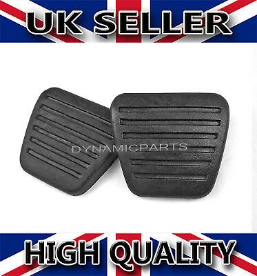 Isuzu Npr-Nkr-Nqr-Nsr-Nps Pair Of Brake & Clutch Pedal Pads Rubbers
