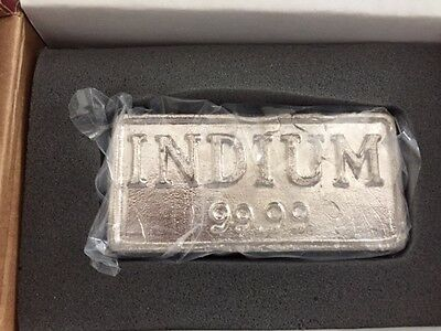 Indium bars priced to sell - $4500 2 bars (5.1029kg) 99.99% Free shipping