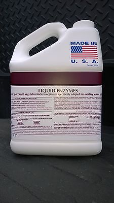 Commercial Drain Line And Grease Trap Cleaner Treatment - Clog Remover 1 Gallon