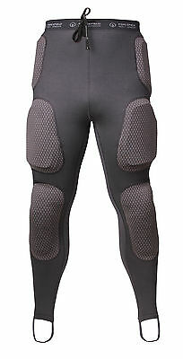 Forcefield Pro Pants Sports CE Armour Protector Trousers Motorcycle 3D Moulding