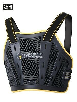 Forcefield Body Armour Elite Chest Protector Cycle Motorbike Race CE Level 1