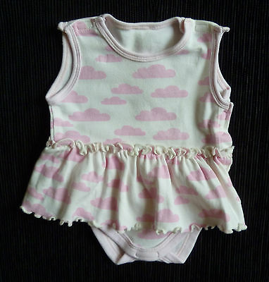 Baby clothes GIRL premature<7.5lbs/3.4kg Mothercare cotton dress/bodysuit pink