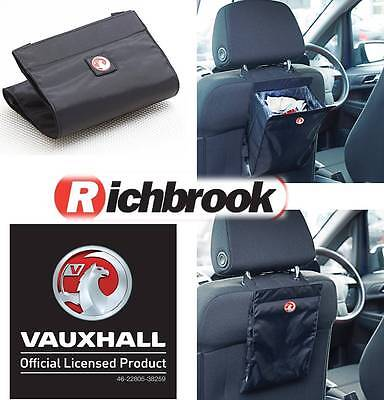 Richbrook Official Licensed  Vauxhall Logo Car Van Travel Portable Rubbish Bin
