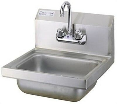"NEW L&J 10""x14"" Wall Hung Hand Wash Sink WHS1410-5D"