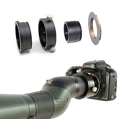 Canon EOS camera adapter for Saw rovski Spotting Scope ATS STS 20-60x eyepiece