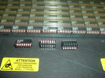435802-9 AMP DIP SWITCH 8 Position LOT QTY 90 NEW UNITS