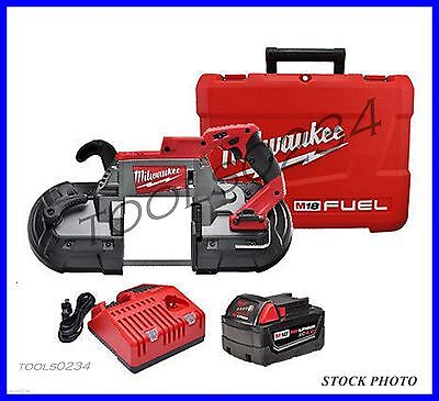New Milwaukee 2729-21  M18™ FUEL Deep Cut Band Saw Kit with Battery