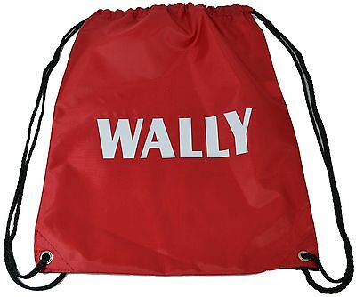 Wally - Fun Fancy Dress Accessory Drawstring Bag FREE POSTAGE / Wheres / Where's