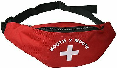 Mouth 2 Mouth / Nurses / Doctors Fun Fancy Dress Accessory Bum Bag / Emergency
