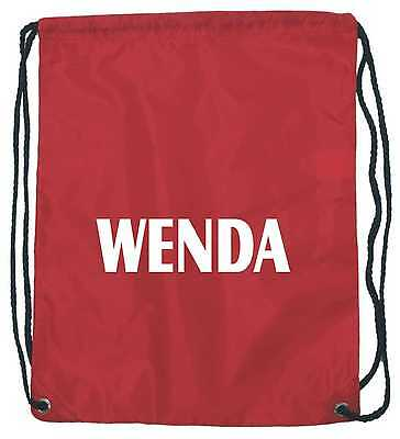 Wenda / Wally - Fun Fancy Dress Accessory Drawstring Bag / Where's / Wheres