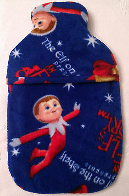 Elf On The Shelf  ~ Hot Water Bottle Cover ~ Free Uk Postage