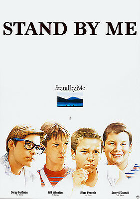 Stand By Me Vintage Classic Movie Art Poster Print - A1, A2, A3, A4 sizes