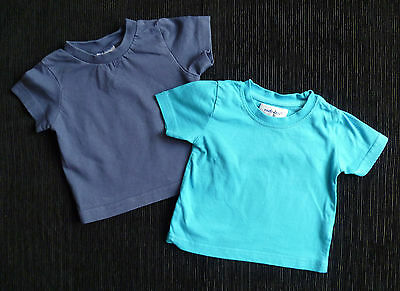 Baby clothes BOY 6-9m 2 t-shirts short sleeve SEE MY SHOP! COMBINE POSTAGE!