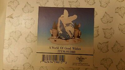 Charming Tails by Fitz and Floyd A World of Good Wishes item 89/ 2000