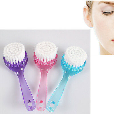 Face Facial Cleansing HA Brush Skin Care OU Massage Deep Cleaning Soft Brush