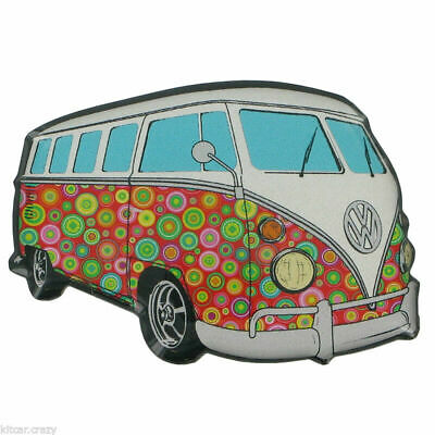Official Volkswagen Campervan Fridge Magnet, Spotty Design Vw