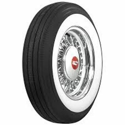 """800-15 Coker 3"""" Wide Whitewall Bias Tire - Set Of 4 - Tires Only"""