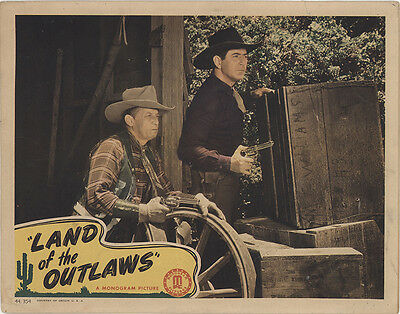 Land of the Outlaws 1944 Original Movie Poster Western