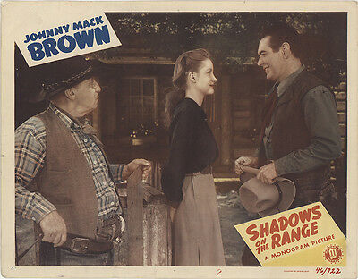 Shadows on the Range 1946 Original Movie Poster Western