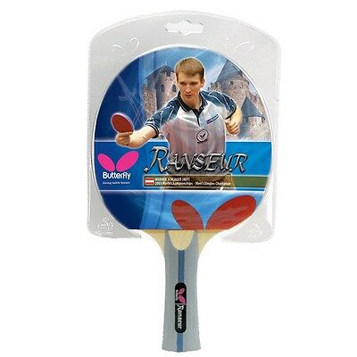 Ranseur - Butterfly Table Tennis Bat with Rubber