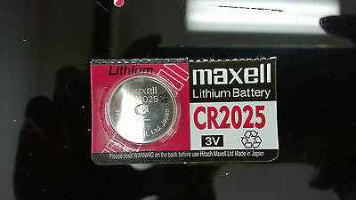 1 pieces Maxell CR2025 Button Coin Cell Lithium Battery 3V
