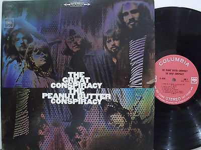 PEANUT BUTTER CONSPIRACY The great conspiracy 1968 ORIG USA PSYCH LP