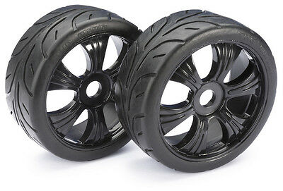 "Absima 1/8 LP Buggy On Road ""Street"" Wheels/Tyres 17mm Hex HPI Trophy 2530003"