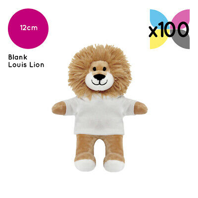 100 Printable Louis Lions With Blank T-Shirt Ideal For Transfer Or Sublimation