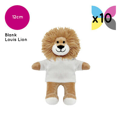 10 Printable Louis Lions With Blank T-Shirt Ideal For Transfer Or Sublimation