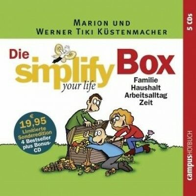 Die Simplify your life Box, 5 Audio-CDs (Hörbuch) NEU