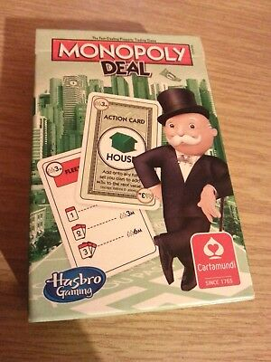 Rare Monopoly Deal Playing Card Game New and Sealed by Morrisons UK SELLER