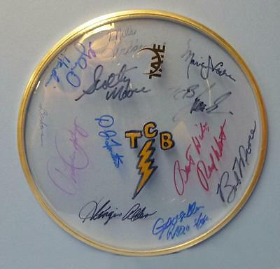 Signed Elvis Presley Tcb Band 11 Authentic Autographs Very Rare & One Of A Kind!