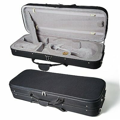 """High Quality 16 """"Viola Case Lightweight with Hygrometer Black/Grey Free Shipping"""