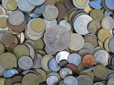 1 Kilo Of World Coins Not Full Of Us/Canadian Cents Over 200+ Coins Free Uk Post